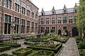 Courtyard of the Plantin-Moretus Museum in Antwerp (26008941706).jpg