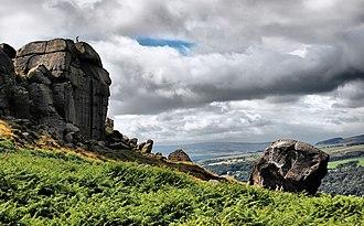 Ilkley Moor - Cow and Calf rocks