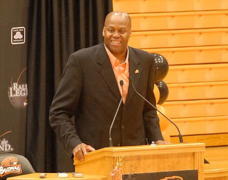 Craig Robinson (basketball) - Robinson at Oregon State, 2008