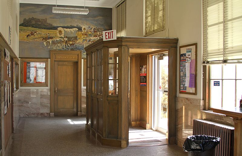 File Crawford Nebraska Post Office Entry Vestibule Jpg