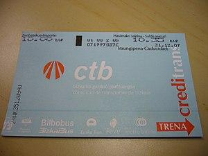 Creditrans - Creditrans card.