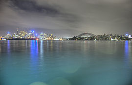 Cremorne Point HDR rain on lens.jpg