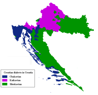 dialect of Serbo-Croatian