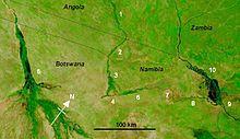 Cuando River Wikipedia - Chobe river