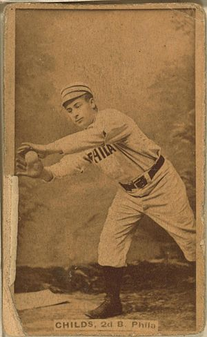 Cupid Childs - Image: Cupid Childs baseball card