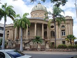 Customs House Rockhampton, from NE, Quay Street (2009).jpg