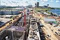Cut and cover construction Myakinino station of Moscow Metro. Строительство станции метро Мякинино.jpg