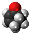 Cyclohexenone 3D spacefill.png