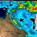 Cyclone Ita 2014 two week rainfall.jpg