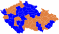 Czech parliament elections 1996 - districts winners map.png