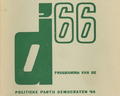 D'66 politiek program 1966.png