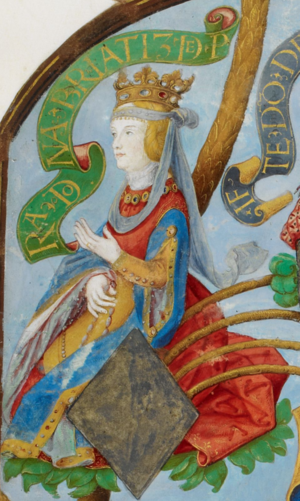 Beatrice of Castile (1293–1359) - Beatrice of Castile, in Antonio de Hollanda's Genealogy of the Royal Houses of Spain and Portugal (1530–1534)