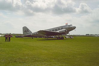 MacRobertson Air Race - Replica of the KLM DC-2 PH-AJU Uiver (At present one of only two flying DC-2's in the world)
