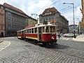 DPP tram line 91 on Senovážné náměstí 01.jpg