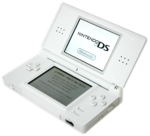 The Nintendo DS Lite.