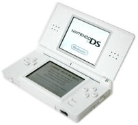 Transparent version of :Image:Nintendo DS Lite...