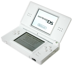 Transparent version of Image:Nintendo DS Lite ...
