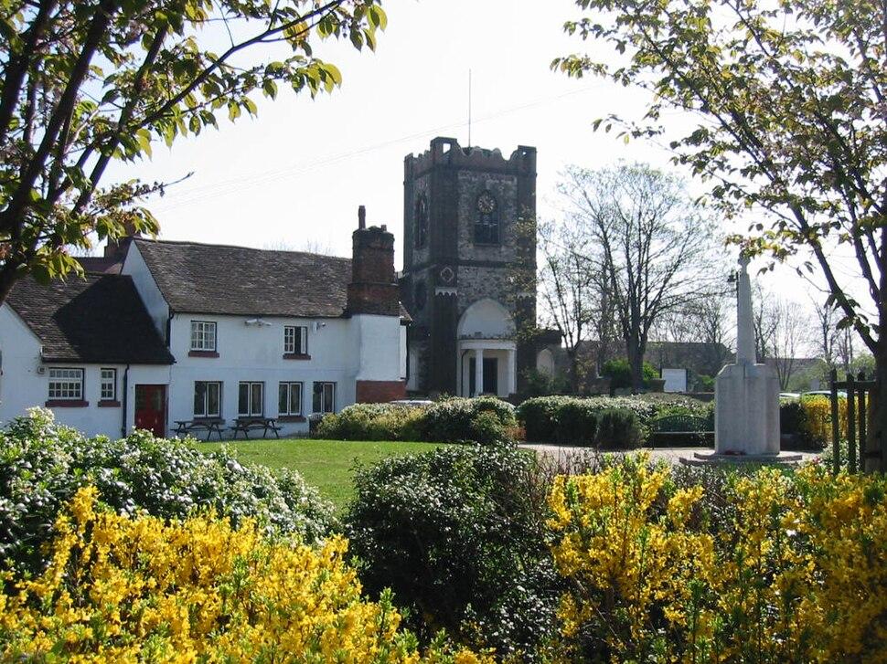 Dagenham village