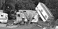 Damaged caravans at Gailes Caravan Village.jpg