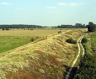 Danevirke - Wall