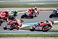 Dani Pedrosa leads the group 2013 Assen 3.jpg