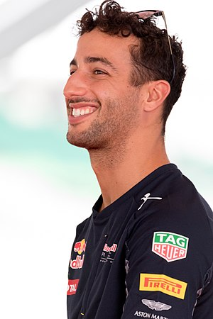 Daniel Ricciardo - Ricciardo at the 2016 Malaysian Grand Prix.