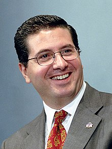 Daniel Snyder Washington Football team owner