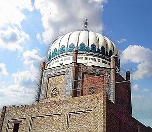 Hala, Sindh - Dargah Pir Sarhandi