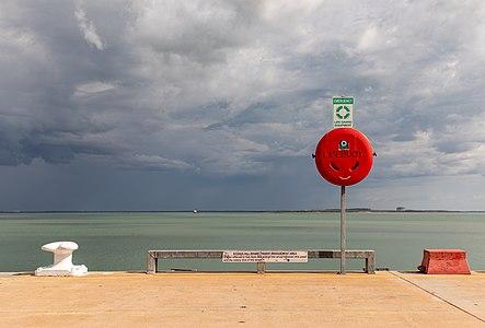 Stokes Hill Wharf in Darwin, Northern Territory, Australia