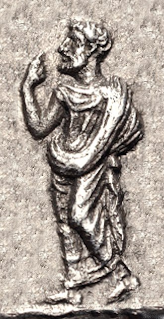 Datames - Datames wearing the chlamys, from his coinage.