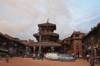 Bhaktapur District - Image: Dattatreya Temple, Bhaktapur Durbar Square, NEPAL 01