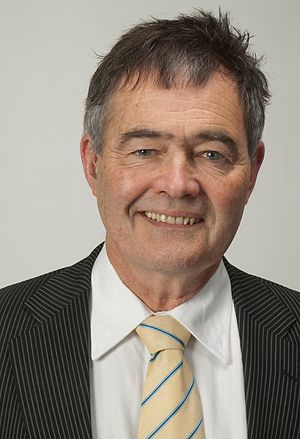 Mayor of Dunedin - Dave Cull, the current mayor