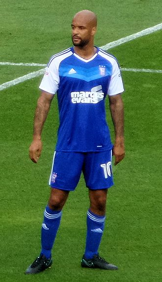 David McGoldrick - McGoldrick playing for Ipswich Town in 2016.