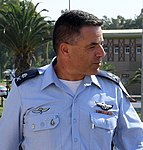 David Goldfein attends Israeli Air Force change of command ceremony, August 2017 (36173941550a).jpg