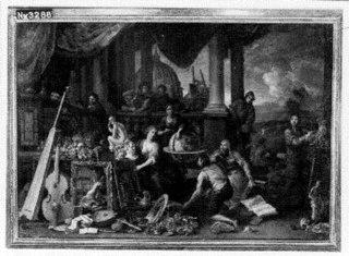 Allegorie van kunsten en wetenschappen