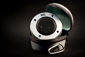 Altec Lansing - An Altec Lansing iM227 speaker from the Orbit M series