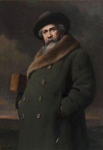 Adrien Demont - Adrien Demont; portrait by Albert Dawant (1852-1923)