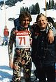 Ddmm82 - WC Switzerland, S. Malone with a friend - 3b - scan photo.jpg