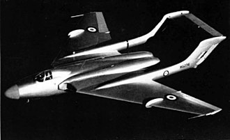 De Havilland Sea Vixen - The DH.110 prototype WG236, in 1952