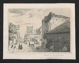 De kroft van de Sint-Walburgiskerk te Antwerpen