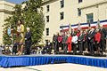 Defense.gov News Photo 100409-D-7203C-020 - First Lady Michelle Obama thanks military members and civilian employees for their service at the Pentagon on April 9 2010. Secretary of Defense.jpg