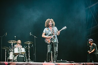 Wolfmother - Image: Deichbrand 2018 Wolfmother 39