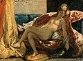 Delacroix, Eugène Ferdinand Victor - Woman with a Parrot - 1827.jpg