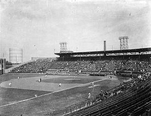 Delorimier Stadium - Delorimier Stadium, circa 1933.