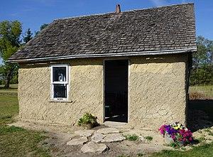 Broadview, Saskatchewan - Delorme cabin