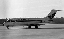 Delta DC-9-10 at Columbia in 1973.jpg