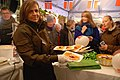 Den norske ambassade deler valfer ud til Nordisk kulturnat i København 2012.jpg
