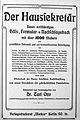 Der Haussekretär Hrsg Carl Otto Berlin ca 1900 F Titelseiten 1.jpg