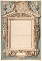 Design for the Frame of a Funerary Plaque with the Coat of Arms of Roger II de Saint Lary, Duc de Bellegarde MET DP811919.jpg