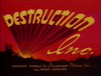Destruction, Inc. - Title card from Destruction, Inc.